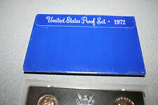 1972,US Coin Proof Set,5 Coin Set,Kennedy Half,Birth Year,Gift,Rare,Free Ship207