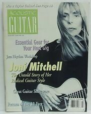 Acoustic Guitar Magazine Joni Mitchell Shareware Jazz Workshop August 1996