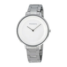 Skagen Ditte White Dial Stainless Steel Ladies Watch SKW2329