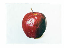 The Big Red Apple - Large Cotton Tea Towel