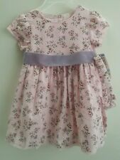 NWT 1st Impressions Baby Girl Pink Floral Dress Bloomers & Headband Set 6-9M