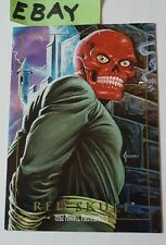 Red Skull 1992 Marvel Masterpieces 80 Capt America Sky Box Trading Card HS