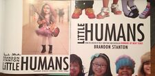 SIGNED! 'Little Humans' by Brandon Stanton 1/1 + great extras! New 2014 book!
