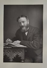 Fine 1890 Cabinet Card Portrait Photo Michael Hicks Beach Politician W&D Downey