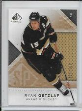 07-08 SP Game Used Ryan Getzlaf Gold # 98 #d/100