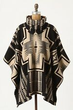 NEW Pendleton Portland Collection Blanket Poncho Cape Coat Jacket Anthropologie