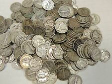 Lot of TEN (10) Mercury Dimes (1916-1945) - FREE SHIPPING!