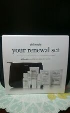Philosophy Your Renewal Set Kit 5 pc Hope in a jar microdelivery peel Time New