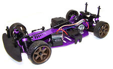 HPI Sprint 2 Chassis Aluminium Upgrade Hop-Up RADSHAPE RC - Purple #HPISPR2P
