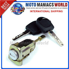VW PASSAT B5 3B 3BG 1996 - 2005 FRONT LEFT Door Lock Barrel & Keys LOCKSET New !