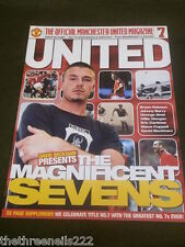 MANCHESTER UNITED THE MAGNIFICENT SEVENS p2001 32pp