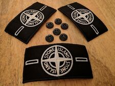 3 Glow in the dark Stone Island Badge (3 badges and 6 buttons)