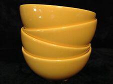 Waechtersbach Germany Bowls Set of 4 Orange Soup Cereal Bowls
