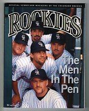 1995 Colorado Rockies MLB Baseball Magazine Volume 3 #5 Program