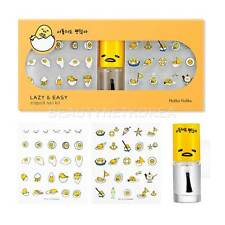 [HOLIKA HOLIKA] Gudetama LAZY & EASY Stiquick Nail Kit 6ml / Easy and fast