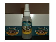 YELLOW OFF HEADLIGHT RESTORATION SPRAY AND FREE INSTANT HEADLIGHT CLEANER WIPES