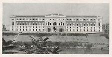D1428 Roma - Ministero della Marina - Stampa antica - 1928 old print