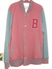 Men's Baseball Style Fleece Jacket.  New.  Never Worn