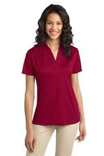 Port Authority L540 Womens Dri-Fit Silk Touch Polo XS-4XL Golf Shirt