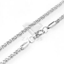 """70cm/28"""" Iron Corn Chain for Necklace Jewellery 5 Colors 2.4/3.2mm 1/5/10pcs"""