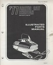 1977 ARCTIC CAT SNOWMOBILE CHEETAH 5000 P/N 0185-076 PARTS MANUAL (056)