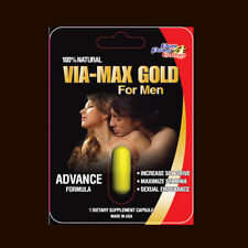 VIA MAX GOLD HERBAL  Enhancer Supplement FOR MAN (10 Pills)