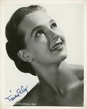 "10""x8"" PHOTO PRINTED AUTOGRAPH - TANIA ELG"
