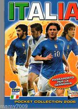 ALBUM FIGURINE MERLIN=ITALIA POCKET COLLECTION 2006=PASSAPORTO PER LA GERMANIA=