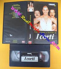 VHS film I CORTI DI Aldo Giovanni e Giacomo CABARET L'UNITA' Rossi (F108) no dvd