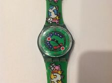 Vintage Swatch Crazy Train GG194 Watch