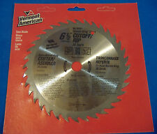"6 1/2"" 36 TOOTH STEEL CUTOFF RIP CIRCULAR SAW BLADE #25227 KROME KING"