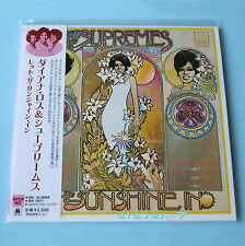 DIANA ROSS & SUPREMES Let the sunshine in JAPAN mini lp cd brand new & ss