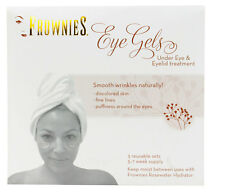 Frownies Eye Gels Under Eye & Eyelid Treatment 3 Reusable Patches