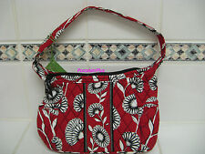 Vera Bradley SOPHIE in DECO DAISY  Small Purse / Bag With Handle FREE SHIP