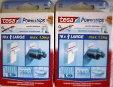 Tesa 20 powerstrips (en caso de compra inmediata 10 powerstrips gratis)