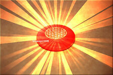 Énergie cellule en rouge avec la fleur de la vie-amour-Neuf-la magie et pièce unique