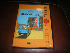 DVD COLLECTION TINTIN OBJECTIF LUNE - NEUF SOUS BLISTER