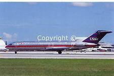 US Air Boeing 727-247 N-749US c/n 21393 Postcard