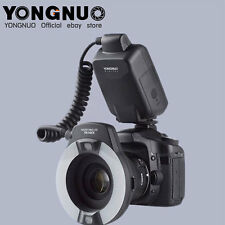 Yongnuo YN-14EX LED Flash Light LITE E-TTL with Macro Rings Adater for Canon