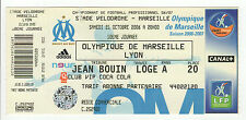 ticket collection STADE VELOROME MARSEILLE 2006-2007 OM / LYON  /B221