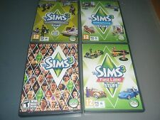 SIMS 3 BASE Lotto Game & Outdoor Living Fast Lane progettazione e HIGH TECH Stuff Pack
