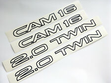 85-87 ST162 Toyota Celica GT-R 2.0 Twin Cam 16 Side Door Decal Sticker JDM