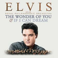 THE WONDER OF YOU: ELVIS PRESLEY WITH THE ROYAL PHILHARMONIC ORCHESTRA  2CD NEW+
