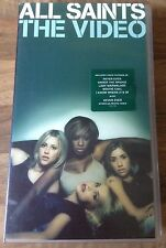 All Saints The Video VHS Music Video Tape Authentic 1998 Approx 60 Mins