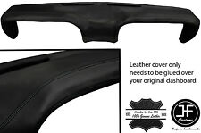 BLACK STITCHING TOP DASH DASHBOARD LEATHER COVER FITS FORD MUSTANG 1969-1970
