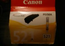 CANON PIXMA (521 YELLOW) GENUINE INK CARTRIDGE