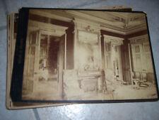 lot 6 photographies anciennes xix eme napoleon 3 chateau de bateau 58 nievre