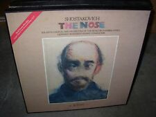 ROZHDESTVENSKY / SHOSTAKOVICH the nose ( classical ) 2lp box melodiya