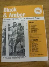 01/12/1973 Cambridge United v Plymouth Argyle  (Rusty Staple)