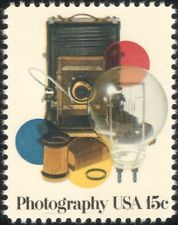 USA 1978 Photography/Camera/Film/Light Bulb/Photographs/Photos/Arts 1v (n45006)